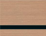 Brushed Copper / Black