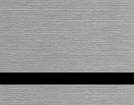 Brushed Sterling / Black
