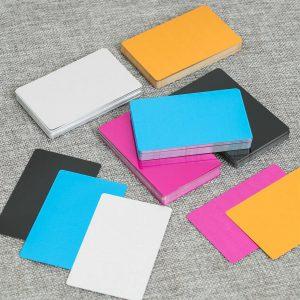 Cartões de Alumínio Anodizado