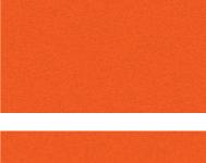 Tangerine / White